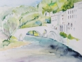 07-Bruecke-in-Sauve-Aquarell