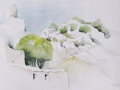 07-Mornas-Burg-Aquarell