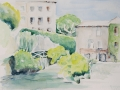 07-Oelmuehle-in-Sauve-Aquarell