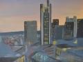12-Frankfurt_Skyline_Abendrot, links außen